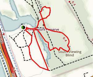 Tifft Nature Preserve Trail Map