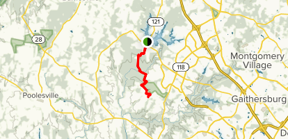 Hoyles Mill Trail Map