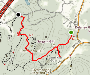 Rattle Snake Hill Trail Map