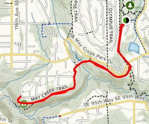 May Creek Trail Map