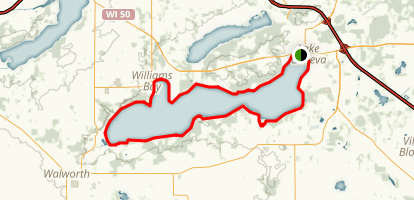 Lake Geneva Trail Map