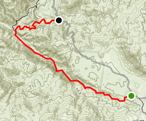 Tenaja Trail Map