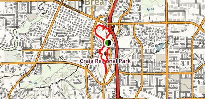 Craig Park Walkabout Trail Map
