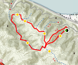 Franklin Ridge Trail Map