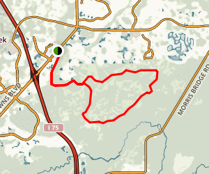 Flatwoods Loop Trail Map