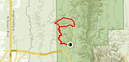 Lower Sunset Trail Map