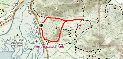 Quarry & Park Ridge Loop Trail Map