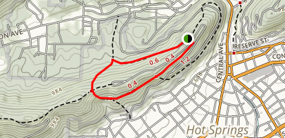 West Mountain Trail Map