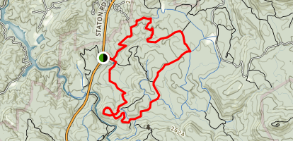 Lake Imaging Trail Map