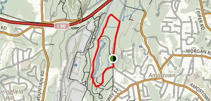 Bear Hole Reservoir Trail Map