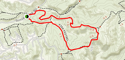 Red Cliffs Nature Center Trail Map