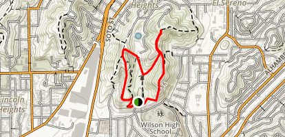 Ascot Hills Park Trail Map