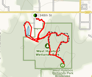 West Hylebos Wetlands Trail Map