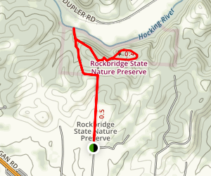 Rockbridge Hiking Trail Map