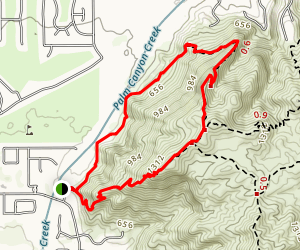 Garstin Loop Trail Map