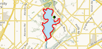 White Rock Lake Trail Map