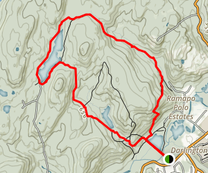 Ramapo Reservation Loop Trail Map
