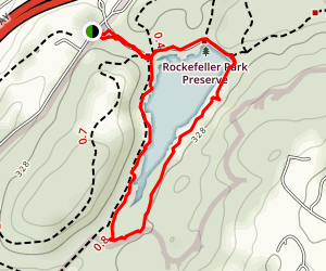 Rockefeller Preserve Trail Map