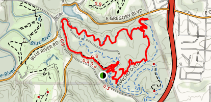Swope Park Mountain Bike Trail Map