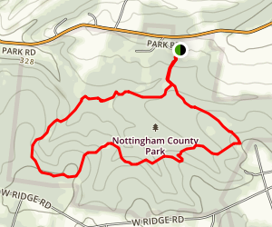 Nottingham Park Trail Map