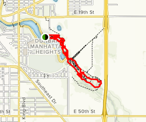 Mae Simmons Park Trail Map