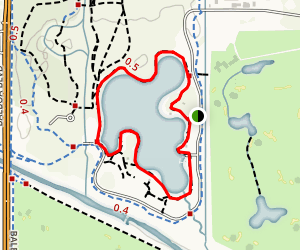 Lake Balboa Trail Map