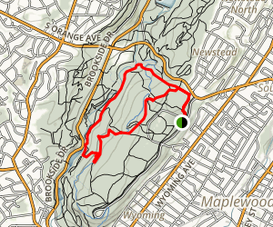 South Mountain Reservation Trail Map