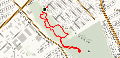 Indian River Park Trail Map