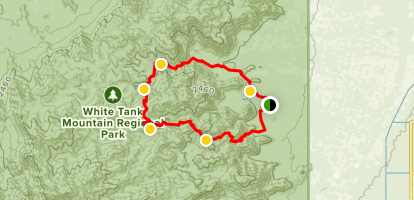 Ford Canyon Loop Trail Map