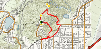 Johnson's Pasture Trail Map