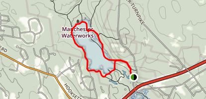 Tower Hill Pond Loop Trail Map