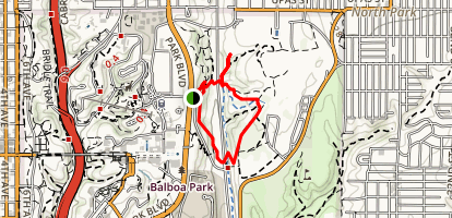 Morley Field Trail Map