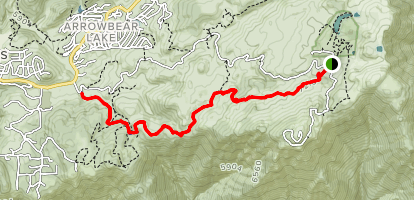 Exploration Trail Map