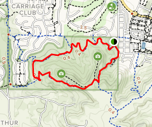 Bluffs Regional Park Trail Map
