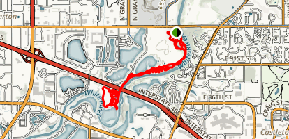 Town Run Trail Park Map