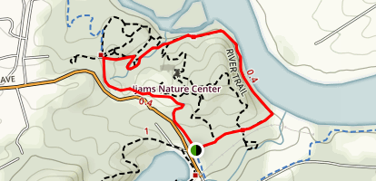 Ijams Nature Center Trail Map