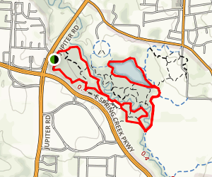 Oak Point Nature Preserve Trail Map