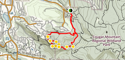De Leo Wall Trail Map