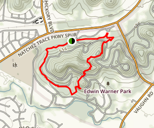 Harpeth Woods Trail Map