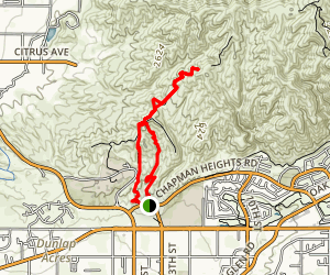 Crafton Hills Trail Map