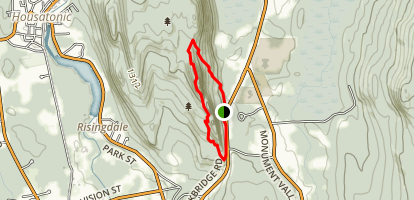 Hickey and Squaw Loop Map