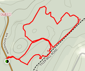 Tyler Mill Run Trail Map