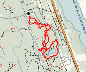 Jonathan Dickinson State Park Trail Map