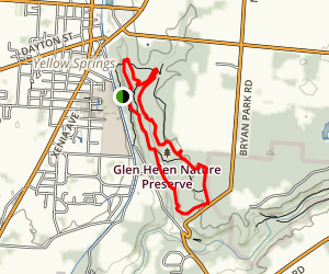 Glen Helen Multi-Trail Loop  Map