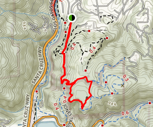 Demo Forest Trail Map