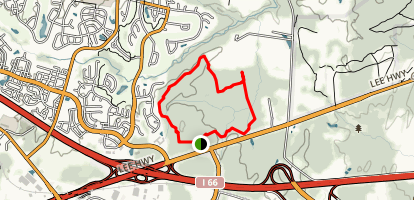 Conway Robinson Blue Trail Map