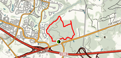Conway Robinson State Forest Trail Map