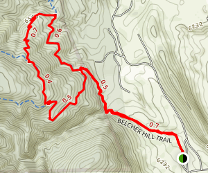 White Ranch Loop Map