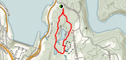 Cranberry Lake Preserve Trail Map