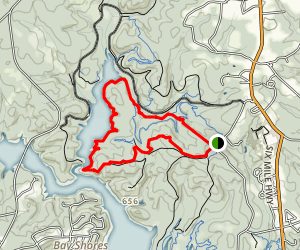 Issaqueena Lake Trail Map